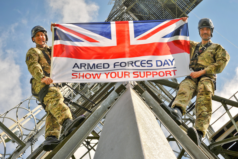 A day for reflection on Armed Forces Day